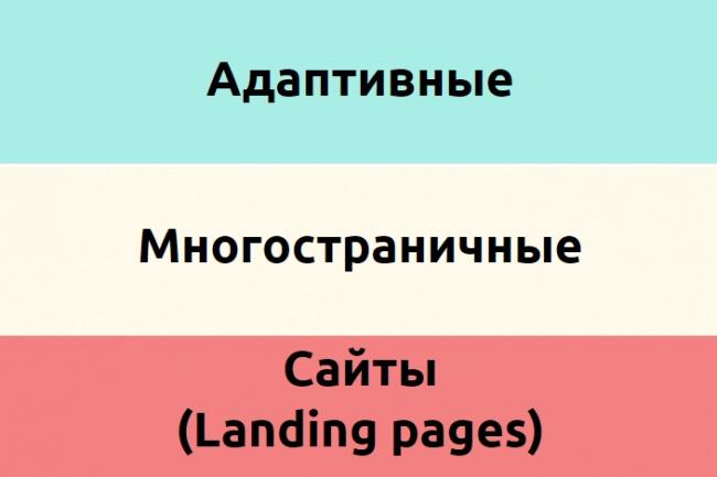 Адаптивный многостраничный сайт 1 - kwork.ru