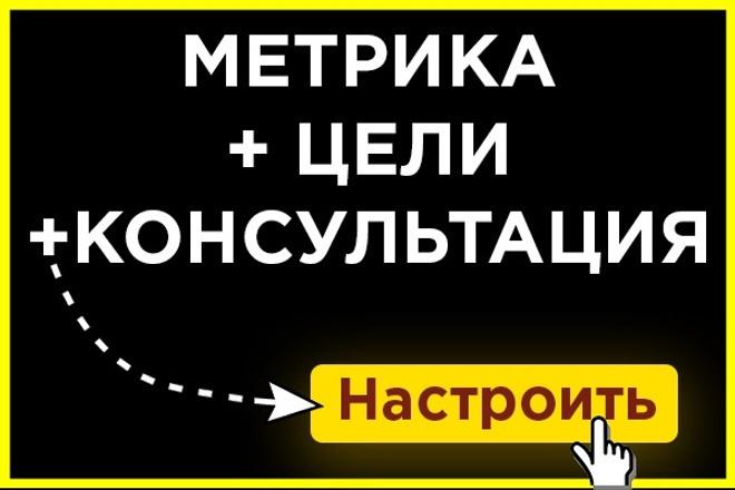 Установлю Метрику, Analytics на сайт + цели в подарок 1 - kwork.ru