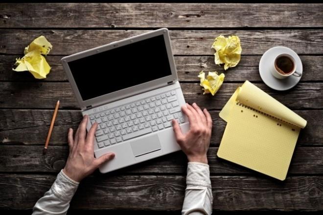 Напишу текст для Вашего сайта, уникальность 90-100%, шингл 4-5 1 - kwork.ru