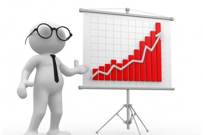Проведу SWOT-анализСтатистика и аналитика<br>Проведение маркетингового SWOT-анализа (СВОТ-анализ). Определение сильных и слабых сторон проекта, угроз и возможностей.<br>