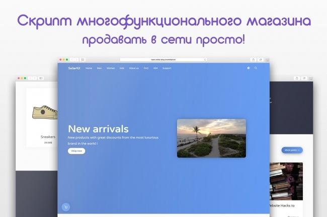 Многофункциональный скрипт онлайн магазина 11 - kwork.ru