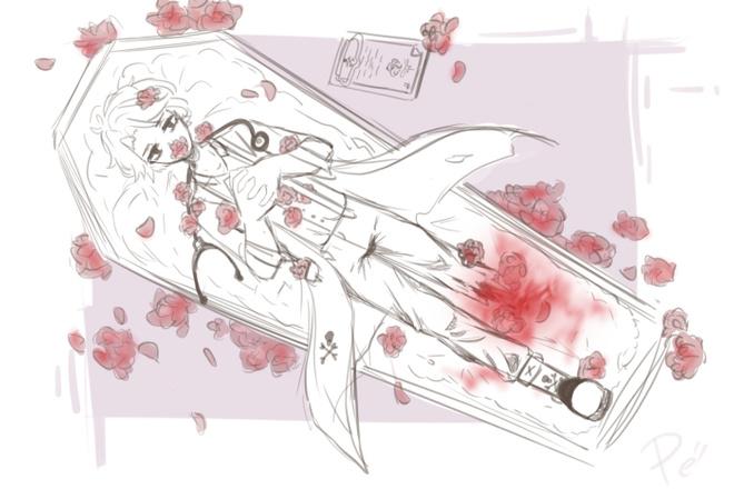 Рисую персонажей из аниме или эскизы на тату или его дорисовка 1 - kwork.ru