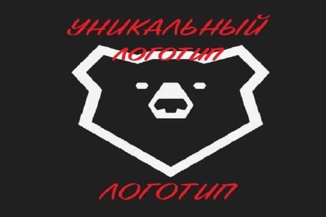 Уникальный Логотип 13 - kwork.ru