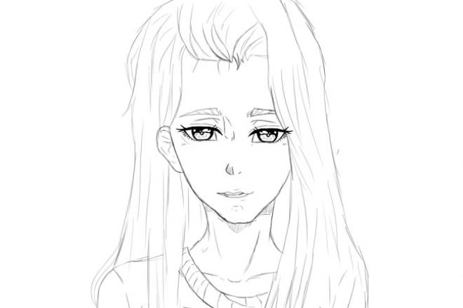 Нарисую какого-либо персонажа в стиле анимеИллюстрации и рисунки<br>Нарисую любого персонажа из какого-либо фэндома. Могу нарисовать только девушек так-как парней рисовать не получается. А если получается то ужасно.<br>