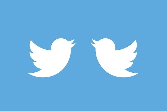 1700 подписчиков в ваш аккаунт TwitterПродвижение в социальных сетях<br>Увеличу количество подписчиков в вашем Твиттере. Выполняю работу быстро и качественно . Услуга безопасна - никаких ботов, только живые люди . Количество подписчиков увеличивается плавно и естественно, что исключает санкции от социальной сети. Аудитория - весь мир (преимущественно русскоязычные подписчики Twitter) Внимание! Так как накрутка производится не ботами, а реальными людьми, то некоторые из них могут в будущем отписаться, но число отписок, обычно, не превышает 5%.<br>