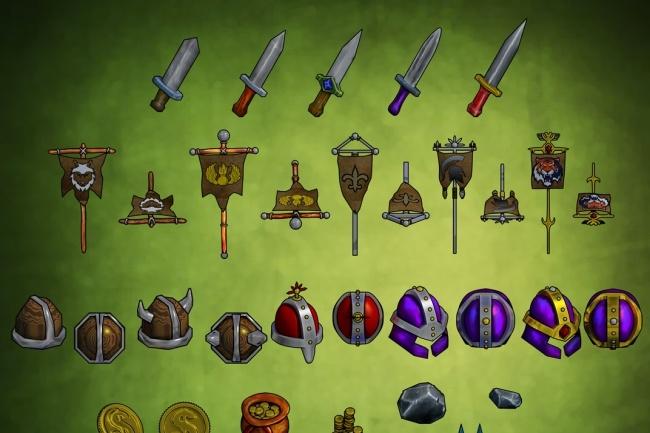 2D-3D графика для игр 1 - kwork.ru