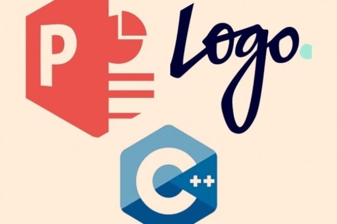 Создам уникальный логотип в 3-х вариантах 1 - kwork.ru