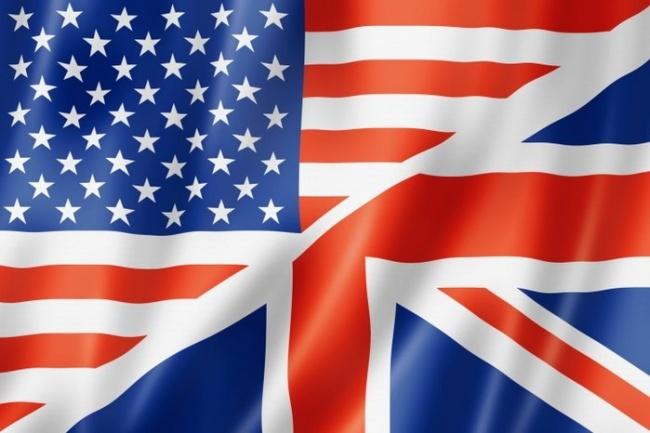 Начитки на английском с американским произношением без акцента 1 - kwork.ru