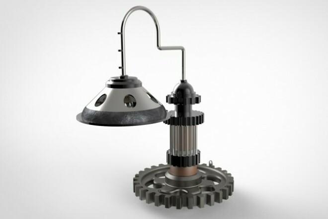 Выполню 3D модели, визуализацию, анимацию, чертежи 1 - kwork.ru