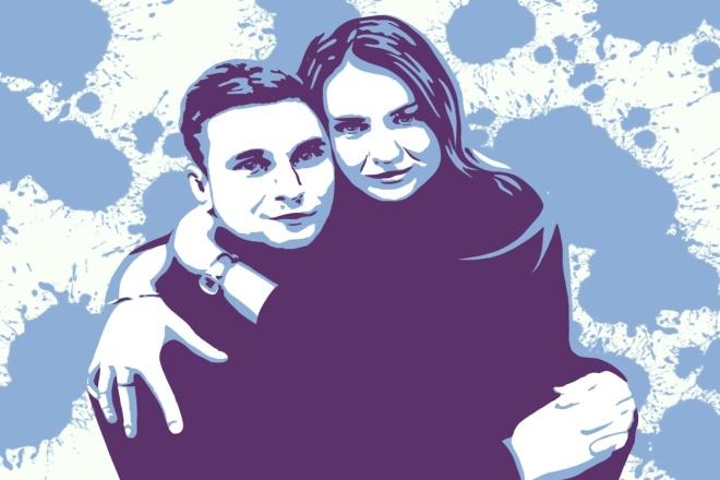 Нарисую портрет в стиле поп- арт за 2 дня 1 - kwork.ru