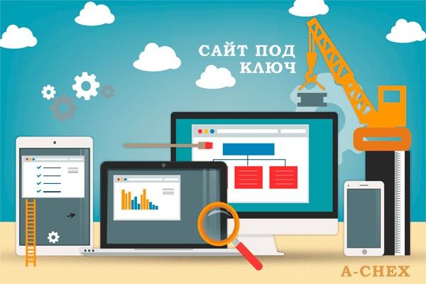 Создам вам сайт под ключ 1 - kwork.ru
