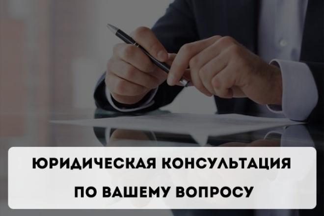 Юридическая консультация по вашему вопросу 1 - kwork.ru