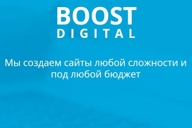 Сделаю адаптивную верстку страницы сайта по макету 4 - kwork.ru