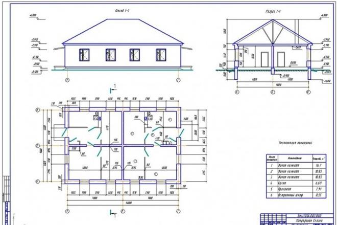 Разработаю или оцифрую чертежи любой сложности в AutoCAD 1 - kwork.ru