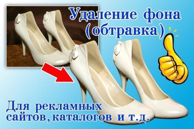Удаление фона (обтравка), обработка фото для рекламных целей 1 - kwork.ru