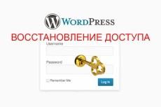 Установлю и настрою любой шаблон WordPress 6 - kwork.ru