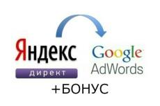 Настрою грамотно рекламную компанию Яндекс директ, Google AdWords 9 - kwork.ru