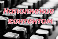 Наполнение сайта 22 - kwork.ru
