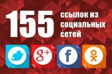 111 ссылок из социальных сетей 11 - kwork.ru
