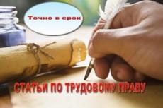 Напишу уникальные статьи 50 - kwork.ru