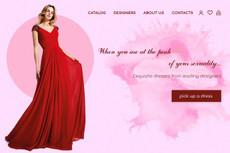 Дизайн страниц для сайта или лэндинга 55 - kwork.ru