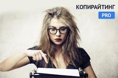 Напишу хороший текст 7 - kwork.ru