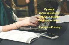 Напечатаю текст вручную 10 - kwork.ru
