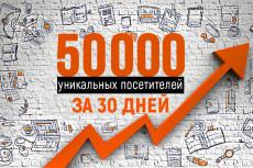 Качественный трафик. 5000 посетителей из Москвы и области 36 - kwork.ru