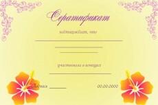 Создам сертификат, благ.письмо, грамоту для шутки или уч.заведения 17 - kwork.ru