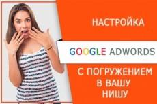 Настройка рекламных кампаний в AdWords 20 - kwork.ru