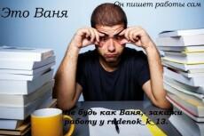 Помогаю студентам в написании: эссе, рефератов, курсовых и дипломных 11 - kwork.ru