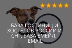 База email контактов женщин Москвы, база девушек 30 - kwork.ru
