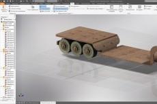 Выполню раскрой для лазера фрезера УП для ЧПУ DXF DWG CDR 21 - kwork.ru