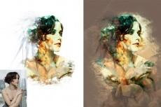Три варианта стилизованного портрета в разных стилях 14 - kwork.ru