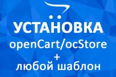Opencart, OcStore. Установка и настройка 9 - kwork.ru