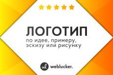 Дизайн логотипа 35 - kwork.ru