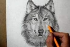 Нарисую человека карандашом 12 - kwork.ru