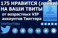Прокачанные Твиттер аккаунты 2014 года 6 - kwork.ru