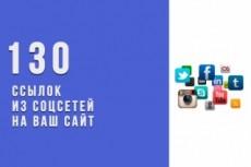 260 вечных ссылок из различных социальных сетей на ваш сайт 11 - kwork.ru
