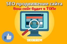 Продвижение Вашего сайта в ТОП 8 - kwork.ru