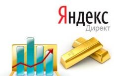 Оптимизация не эффективной рекламной компании Яндекс.Директ 13 - kwork.ru
