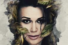 Три варианта стилизованного портрета в разных стилях 23 - kwork.ru