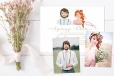 разработаю дизайн визитки с портретом 20 - kwork.ru