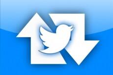 1000 ретвитов в Твиттер 11 - kwork.ru