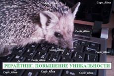 Сделаю качественный рерайт текст (до 8 тыс. знаков) 20 - kwork.ru