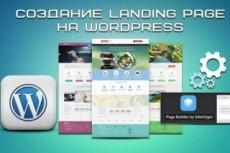 Производство сайтов и лэндингов на Wordpress 13 - kwork.ru