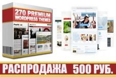 Премиум Вордпресс Темы на любой вкус и бизнес 17 - kwork.ru
