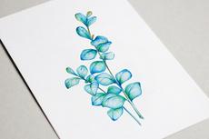 Нарисую ботаническую иллюстрацию, эскиз тату в стиле лайнарт 21 - kwork.ru