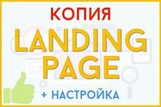 продам 20 готовых копий Landing Page 13 - kwork.ru