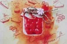 Нарисую открытку 39 - kwork.ru
